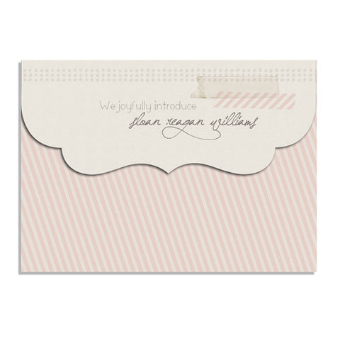 Soft & Subtle 7x5 Top Folded Luxe Card