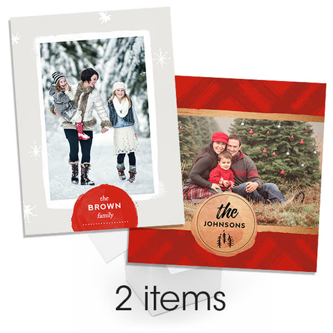 Family Album Accordion Mini Book Bundle