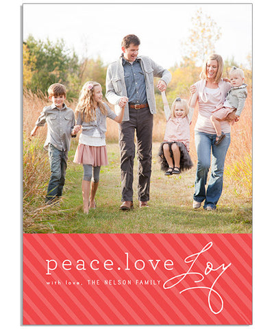 Family Joy 5x7 Flat Card