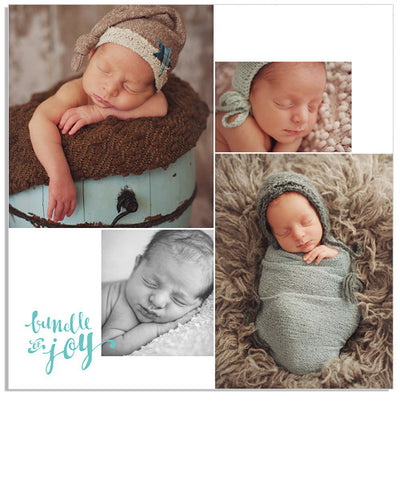 Bundle of Joy 16x16 Gallery Wrap and Print