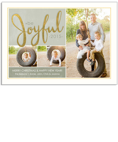 Joyful 7x5 Flat Card