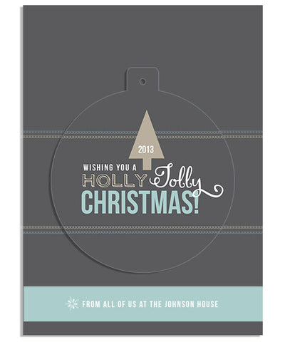 So Festive 5x7 Circle Luxe Pop Card