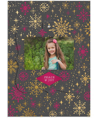 Sparkly and Bright 5x7 Ornate Luxe Pop Card