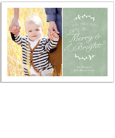 Merry Twig 7x5 Flat Card and Address Label