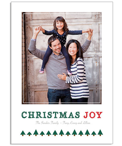 Oh, Christmas Joy 5x7 Flat Card