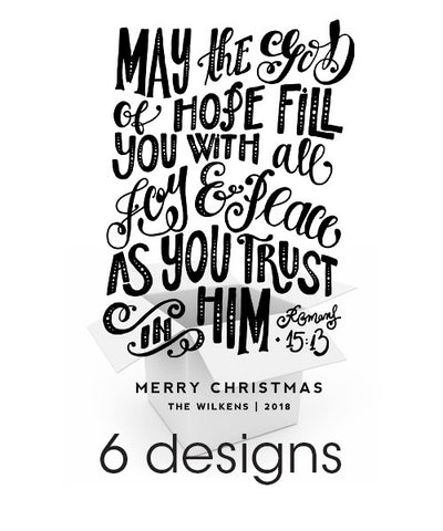 Christmas Spirit Overlays Bundle