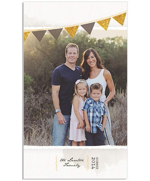 Summer Days Flag Banners 4x8 Accordion Book