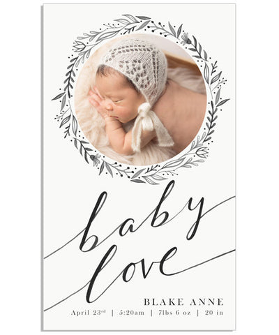 Baby Love 4x8 Accordion Book
