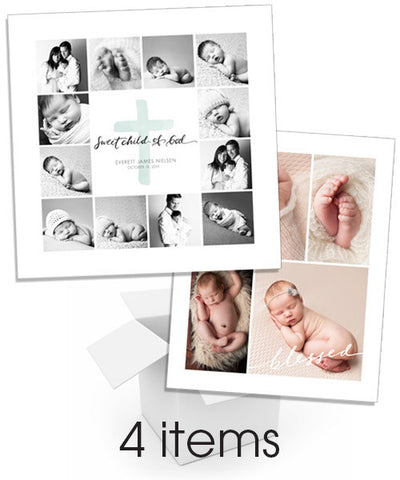 Baby Storyboard Collage Bundle