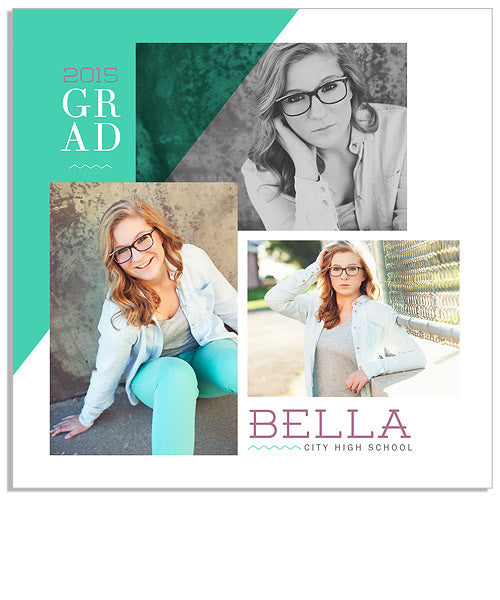 Bella 5x5 Flat Card