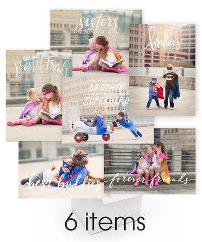 Best of Friends Overlays Bundle