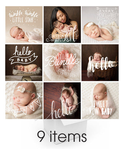 Bitty Baby Overlays