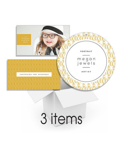 Ziggy Zag Business Card and Packaging Hang Tag Bundle
