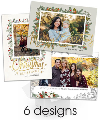 Christmas Greens Foil Bundle