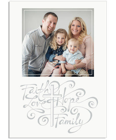 Faith and Family 5x7 Custom Proof Box