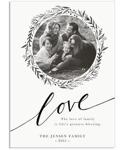 Family Love 5x7 Custom Proof Box