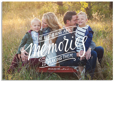 Family Memories 5x7 Custom Proof Box