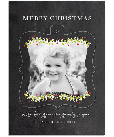 Festive Fun 3 5x7 Ornate Luxe Pop Card