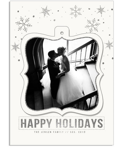 Festive Fun 4 5x7 Ornate Luxe Pop Card