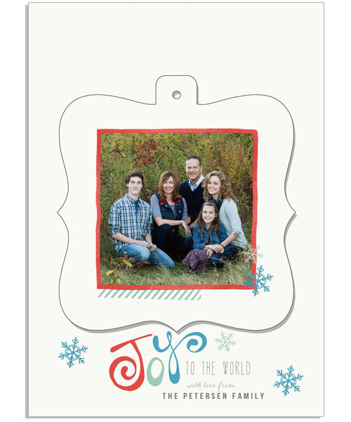 Festive Fun 6 5x7 Ornate Luxe Pop Card