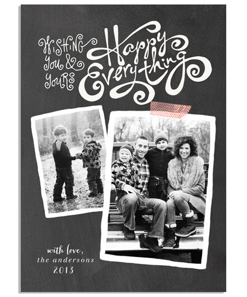 Happy Everything 5x7 Flat Card and Address Label