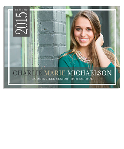 Michaelson 7x5 Flat Card
