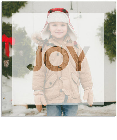 Modern Joy 5x5 Accordion Card
