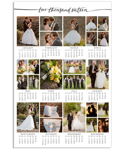 On Display Calendar 12x18 Poster – 2016-2020