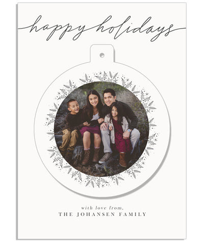 Peace on Earth 5x7 Circle Luxe Pop Card