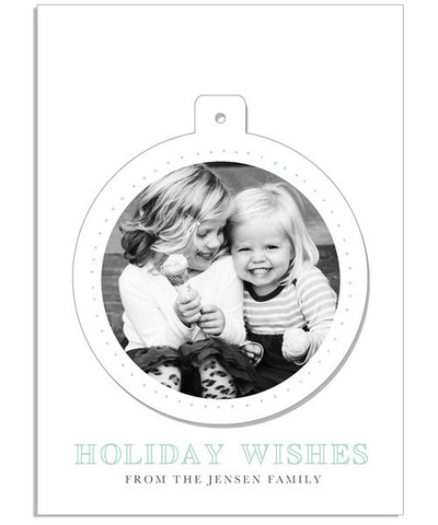 Pop Out Wishes 5x7 Circle Luxe Pop Card