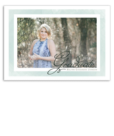 Sea Salt Grad 7x5 Flat Card