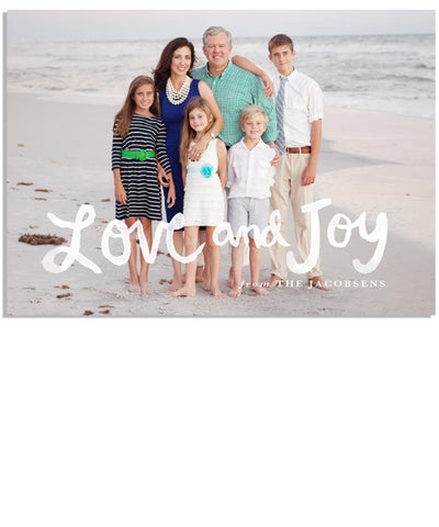 Simply Love 7x5 Wide Format Folded Card