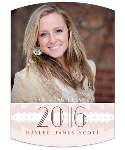 Southwest Grad 5x7 Arc Luxe Card