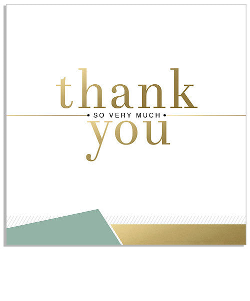 Taylor Thank You 5x5 Flat Card