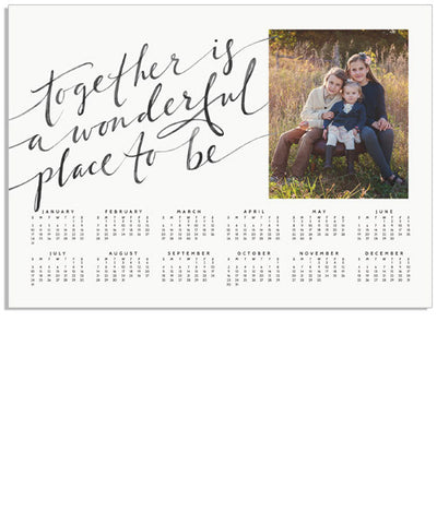 Together Calendar 7x5 Storyboard Print