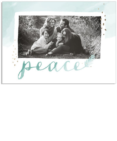 Watercolor Peace 5x7 Custom Proof Box