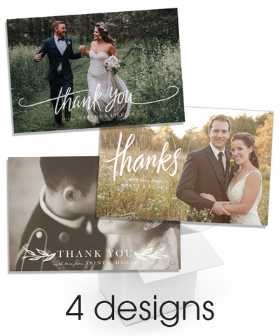 Wedded Bliss Thank You Postcard Bundle