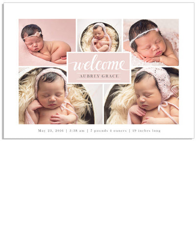 Welcome Collage 5x7 Custom Proof Box