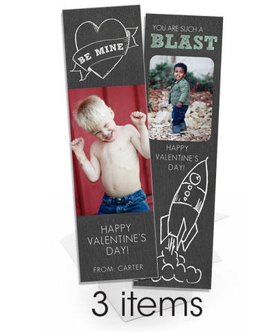 Blackboard Valentine Bookmark Bundle
