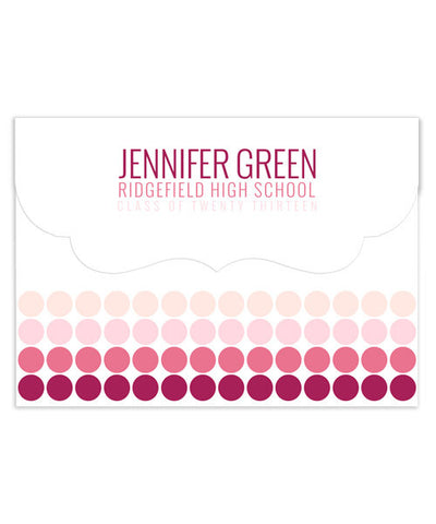 Jennifer Senior 7x5 Top Folded Luxe Card