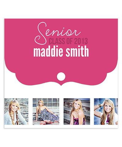 Maddie Senior Luxe DVD Case and DVD Label