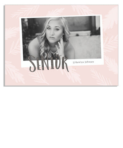 Pink Tropics 5x7 Custom Proof Box