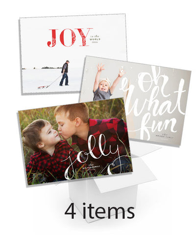 Simply Scripted Holiday Card Collection