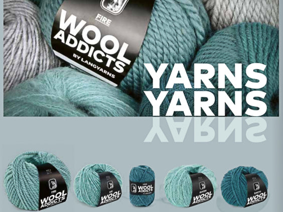 KNIT HAPPENS - WOOLADDICTS von Lang Yarns