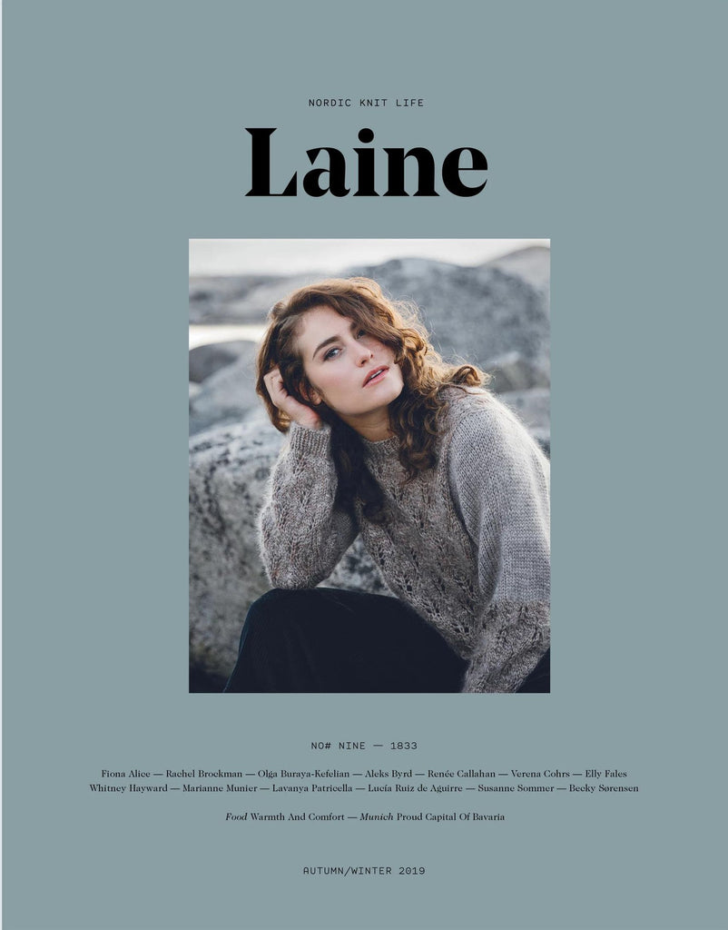 KNIT HAPPENS - Laine No. 9: 1833