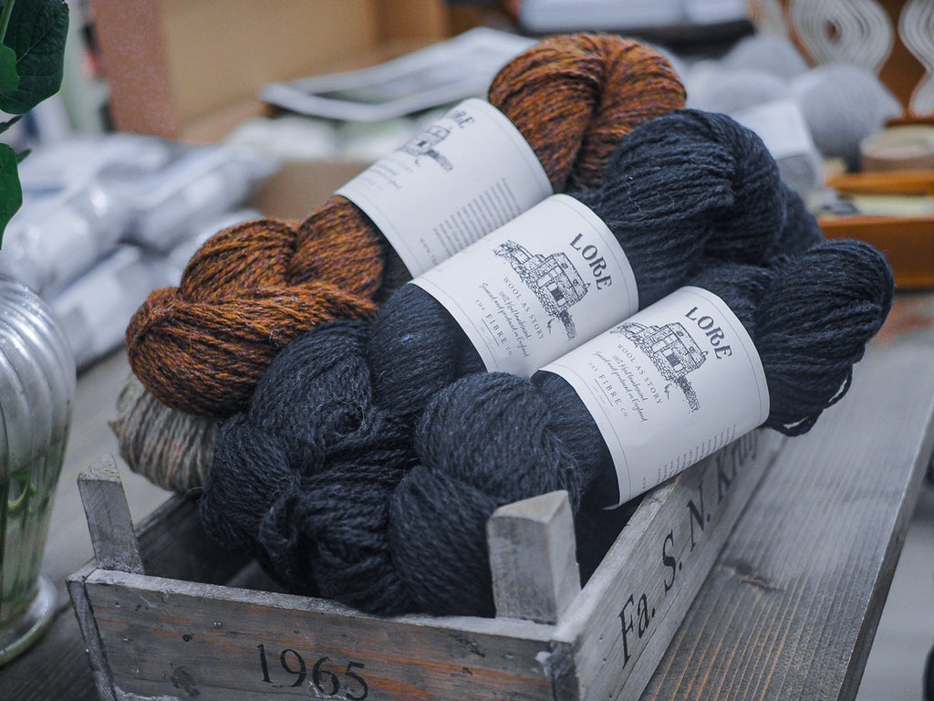 KNIT HAPPENS - Unser neues Garn LORE von The Fibre Co.