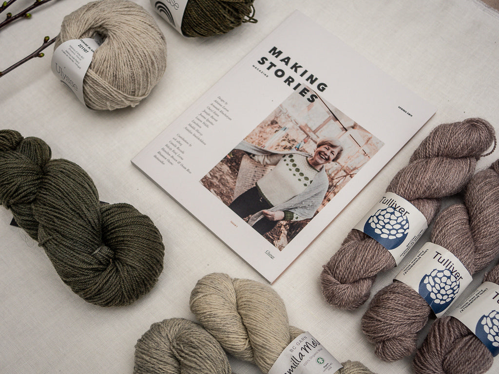 KNIT HAPPENS - Making Stories Magazine Issue 1