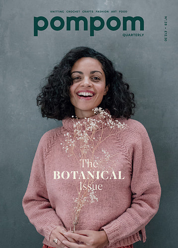 KNIT HAPPENS: Pom Pom Quarterly Nr. 28 - The Botanical Issue