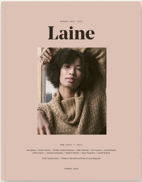 KNIT HAPPENS - Laine Issue 8: Kelo