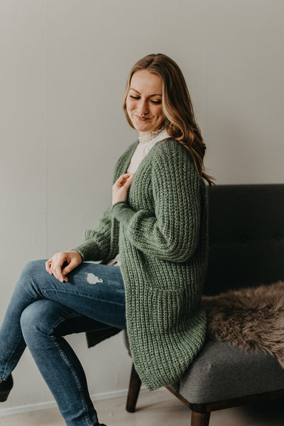 Dreamy cardigan my size by Trine Bertelsen